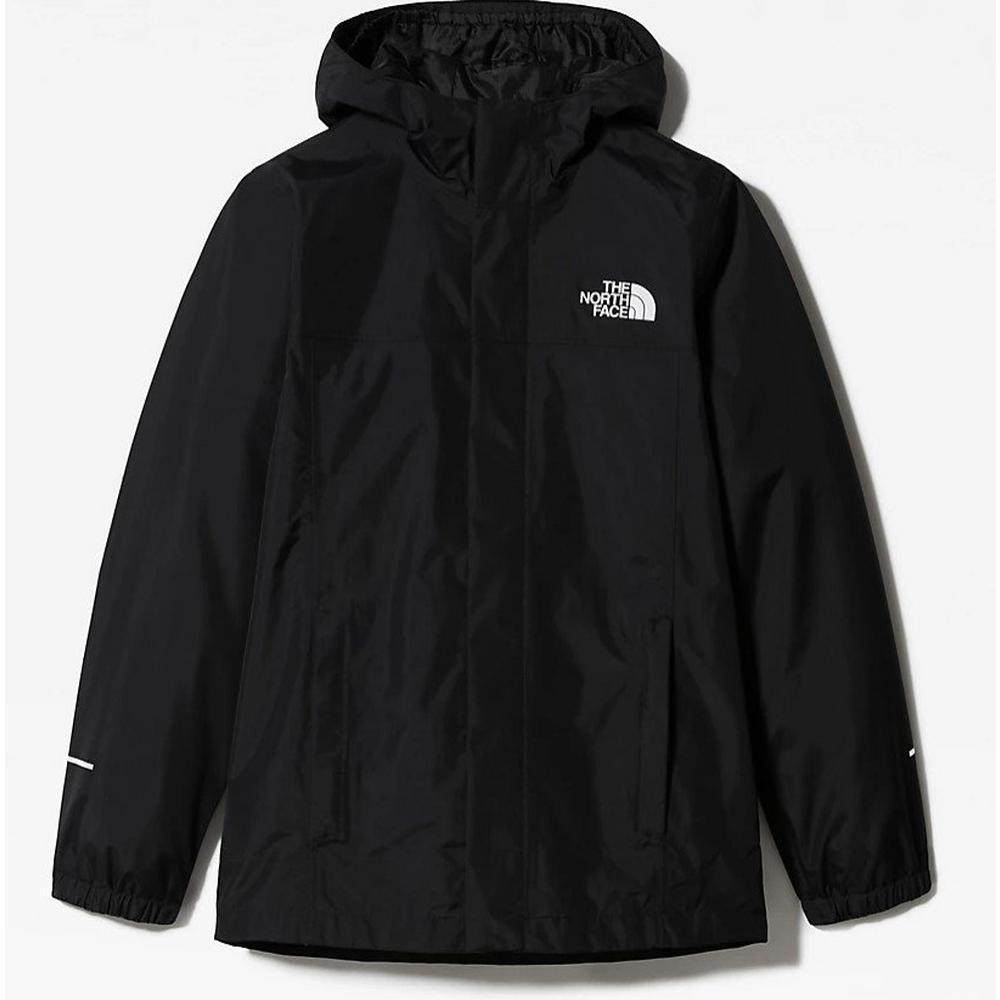 The North Face Kids Boys Resolve Rain Jacket - Black