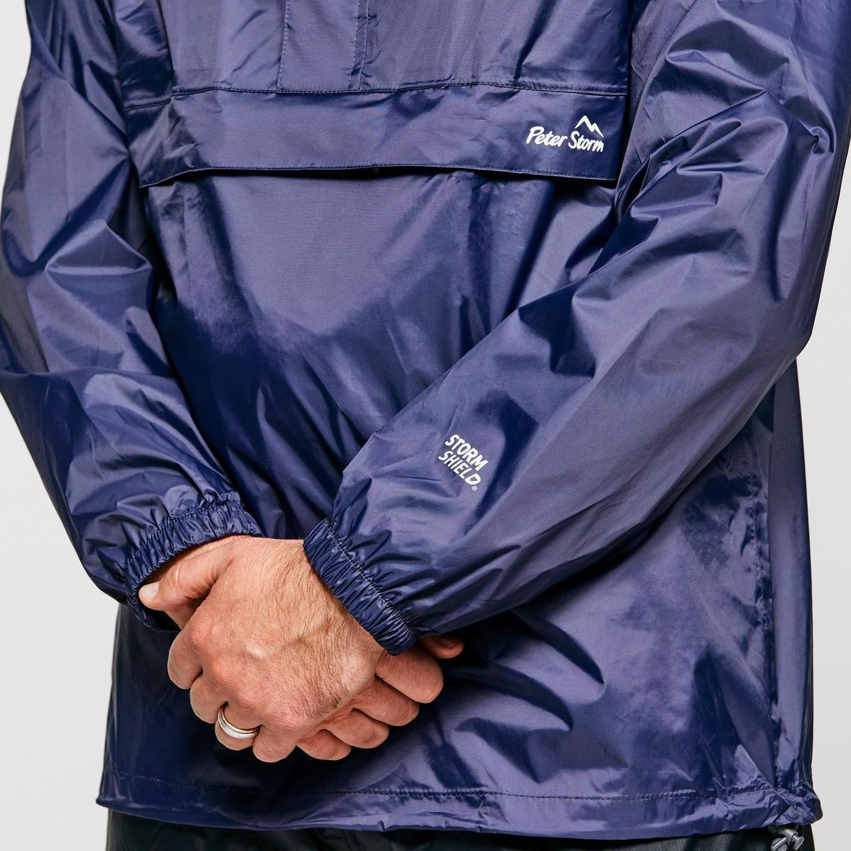 Peter Storm Men's Packable Cagoule - Navy