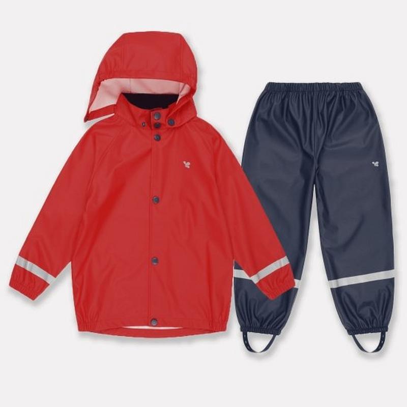 Kids Rainy Day Set - Red