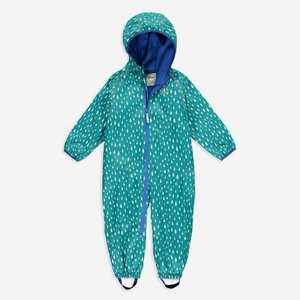 Kids Ecosplash All-In-One Suit - Green