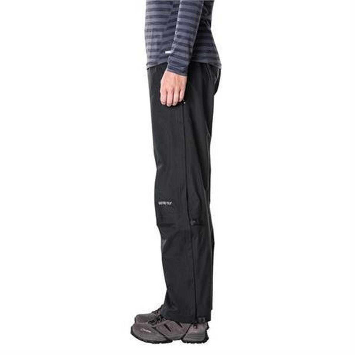 Berghaus WATERPROOF Overtrousers Women's Paclite Pant SHORT Leg Black