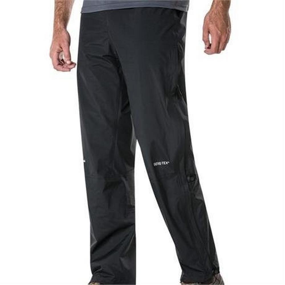 Berghaus WATERPROOF Overtrousers Men's Gore-Tex Paclite Pant SHORT Leg Black