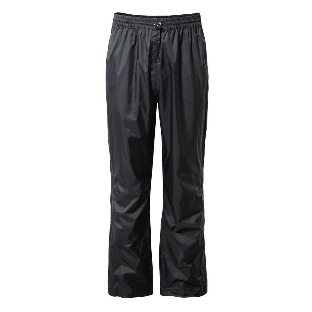 Craghoppers Unisex Ascent Overtrousers - Black