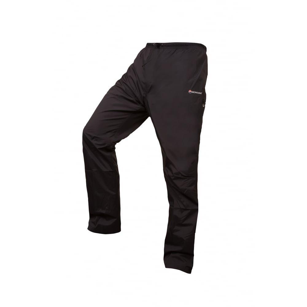 Montane WATERPROOF Overtrousers Men's Atomic Pant REGULAR Leg Black