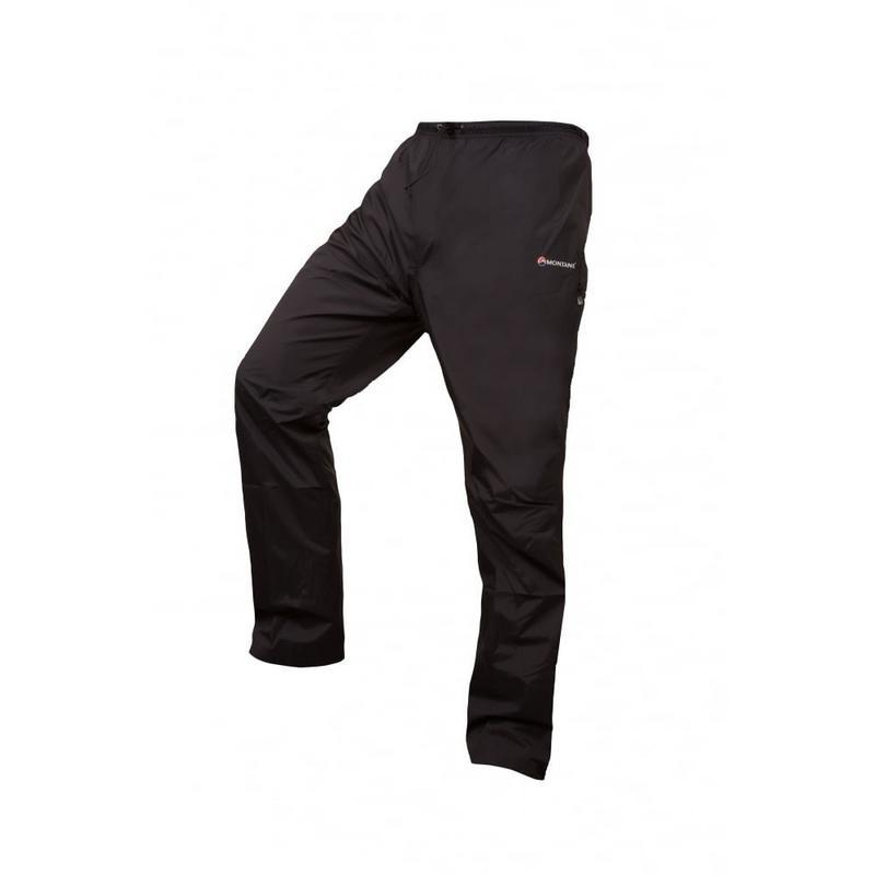WATERPROOF Overtrousers Men's Atomic Pant REGULAR Leg Black