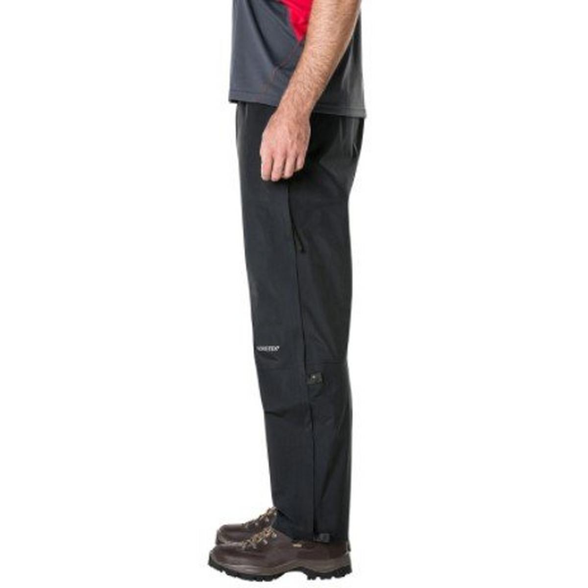 Berghaus WATERPROOF Overtrousers Men's Gore-Tex Paclite Pant LONG Leg Black