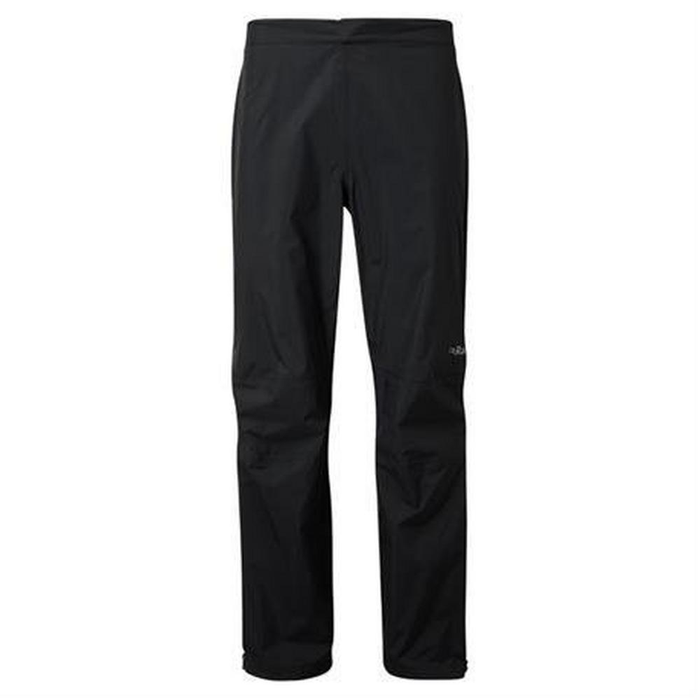 Rab WATERPROOF Overtrousers Men's Downpour Plus REGULAR Leg Pants Black