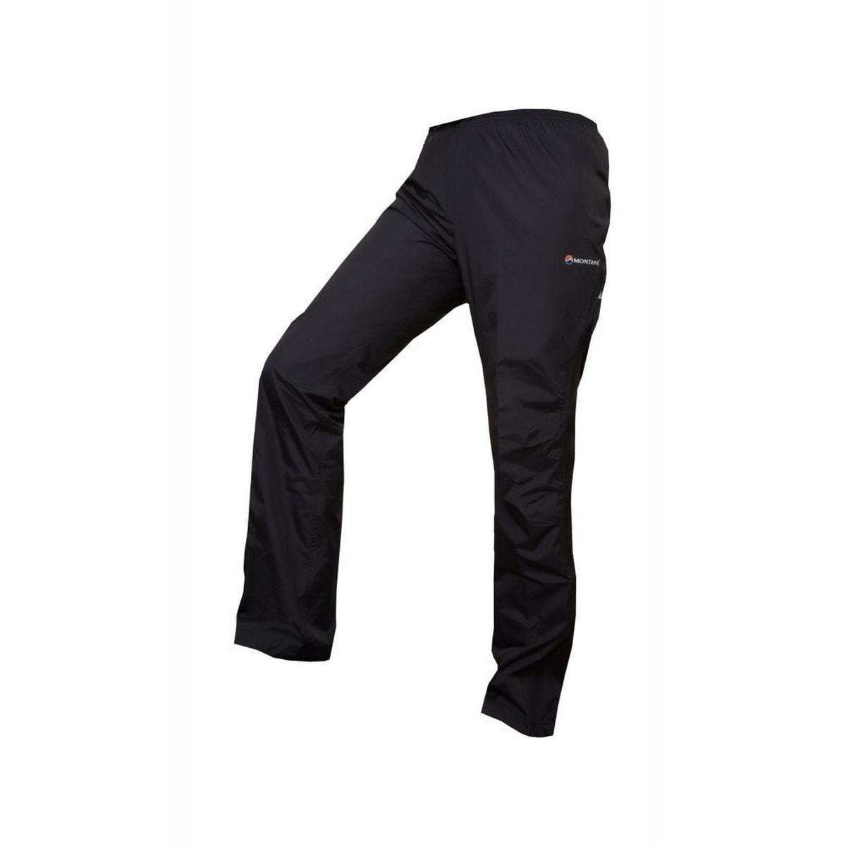 Montane Women's Montane Dynamo Waterproof Pants Reg - Black