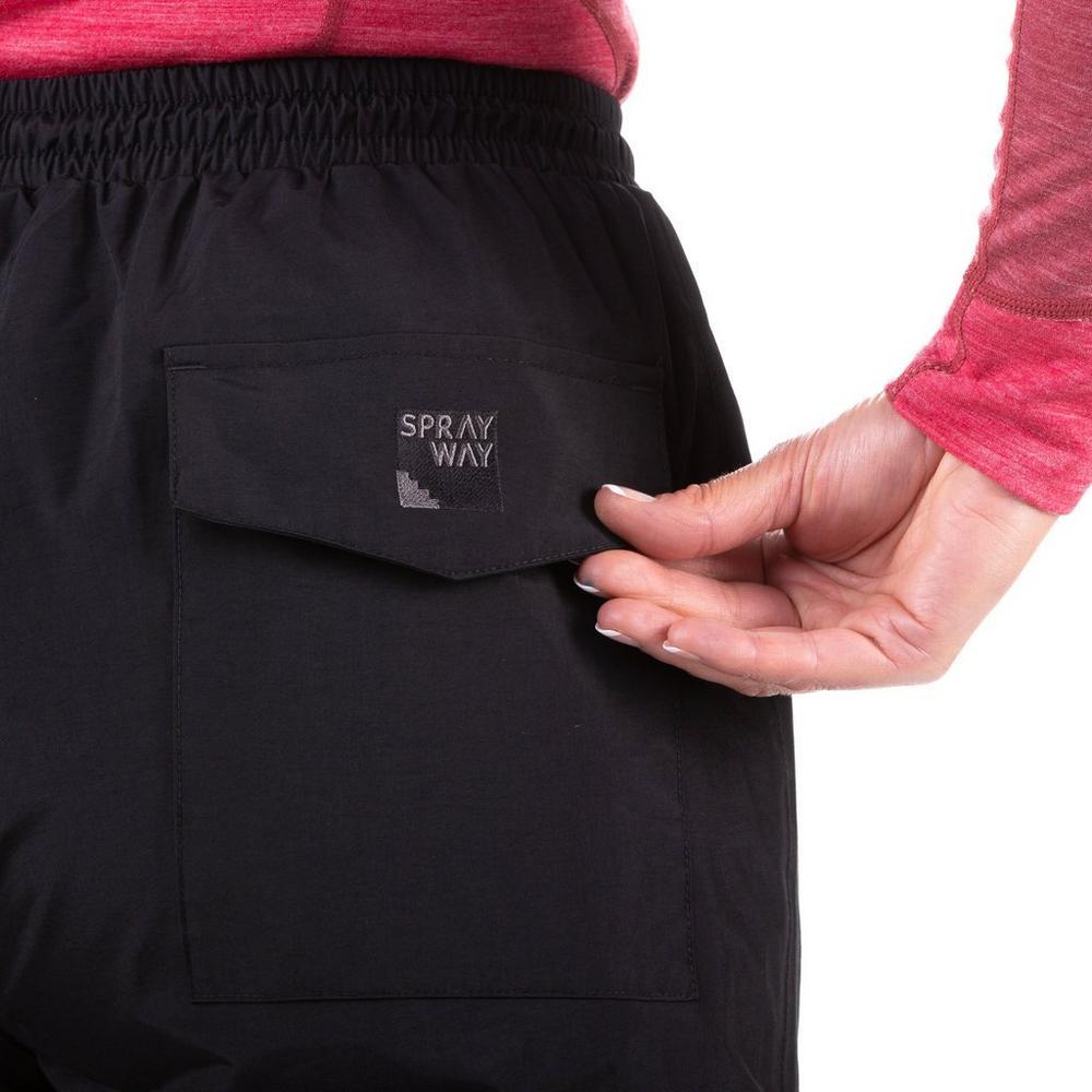 Sprayway Women's Atlanta Pant (Short) - Black