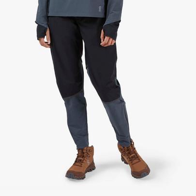 On Women's Waterproof Pants - Black / Dark