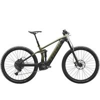Rail 5 Electric Mountain Bike - Olive/Grey/Black - 2020