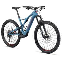 Turbo Levo SL Comp Carbon Electric Mountain Bike - 2020 - Storm Grey/Red