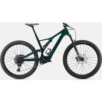 Turbo Levo SL Comp Carbon Electric Mountain Bike - 2021 - Green Tint/Black
