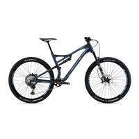 S-120 C RS Full Suspension Mountain Bike - 2020 - Matt Midnight