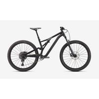Stumpjumper Alloy Full Suspension Mountain Bike - 2021 - Satin Black Smoke