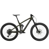 Trek Remedy 9.8 Full Suspension Mountain Bike - 2021 - Gloss Black Olive/Matte Dnister Black