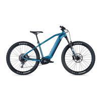 E-504 Electric Mountain Bike - 2022 - Matt Diesel Light Blue