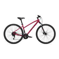 Women's Ridgeway V2 Hybrid Bike - 2020 - Matt Magenta