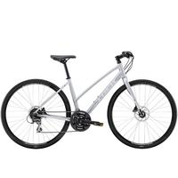 Women's FX 2 Disc Step-Thru Hybrid Bike - 2020 - Silver