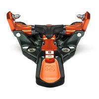 Ion 12 Binding - 100mm Brake - Orange / Black