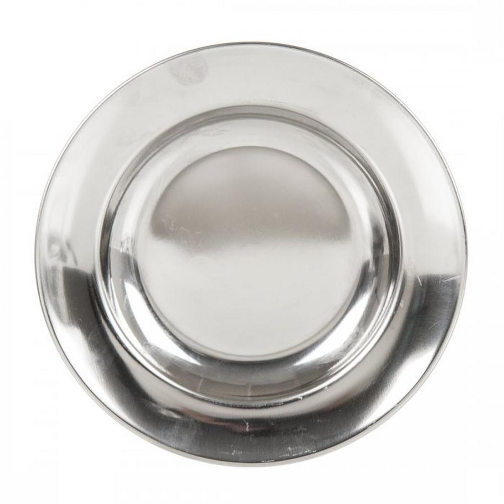 Lifesystems Stainless Steel Camping Plate