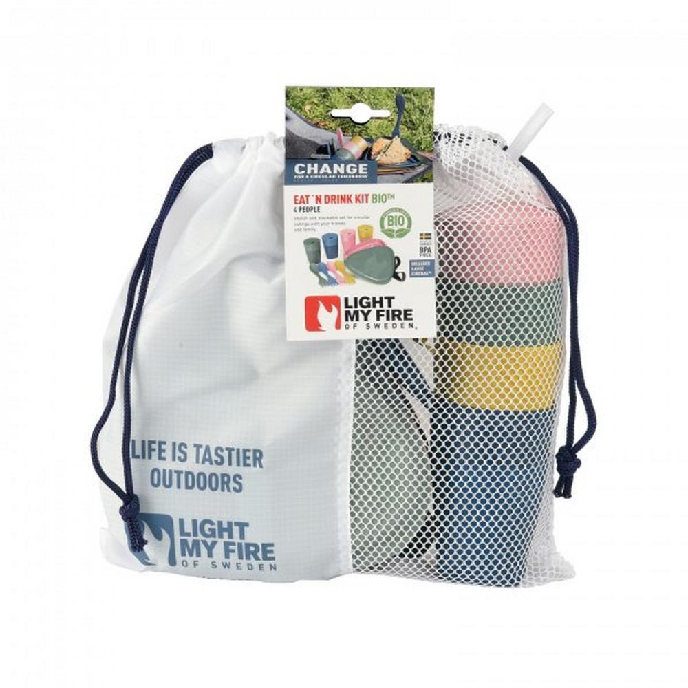 Light Myfire Dining Kit Bio 4 Person
