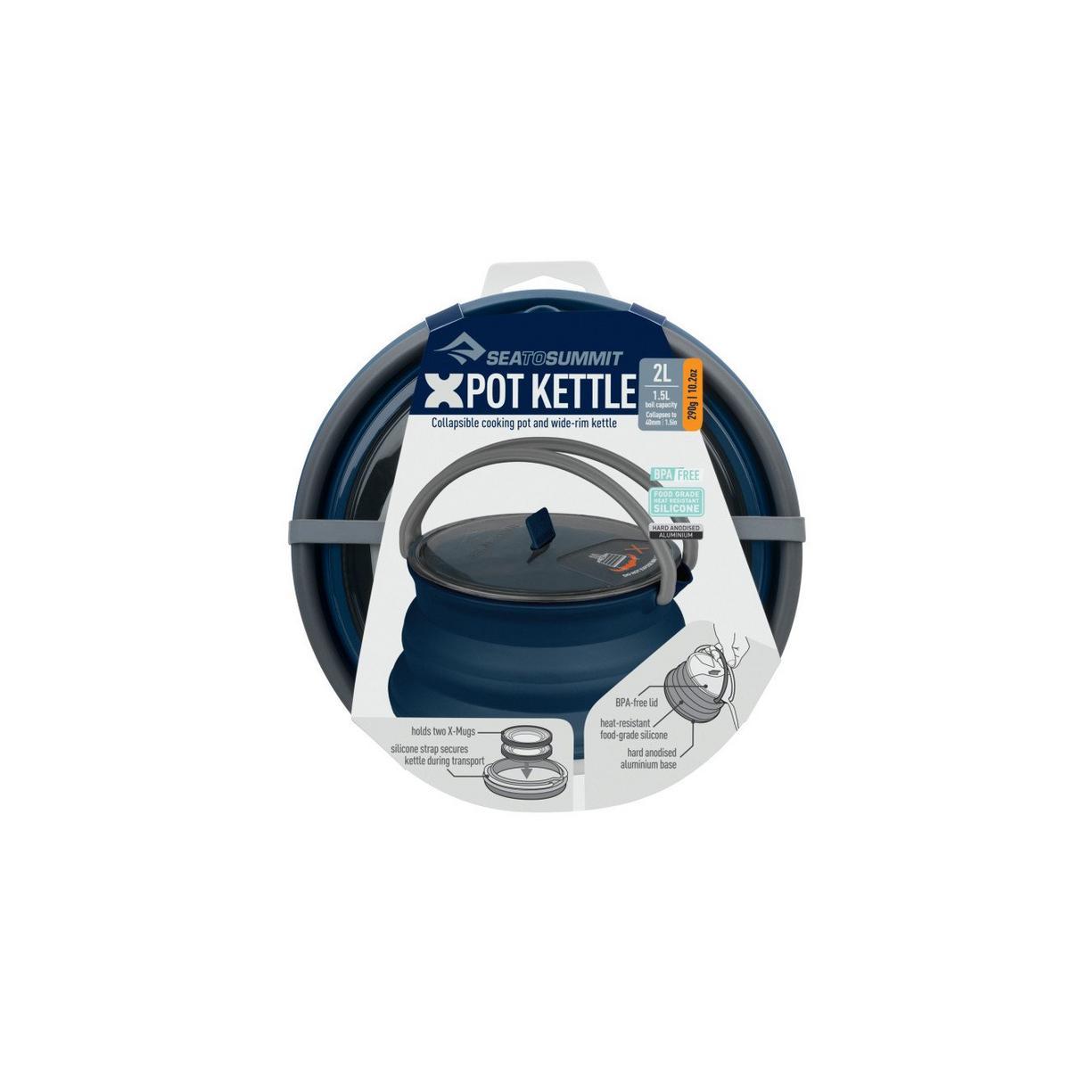 Sea To Summit X-Pot Kettle 2.0 Litre - Navy