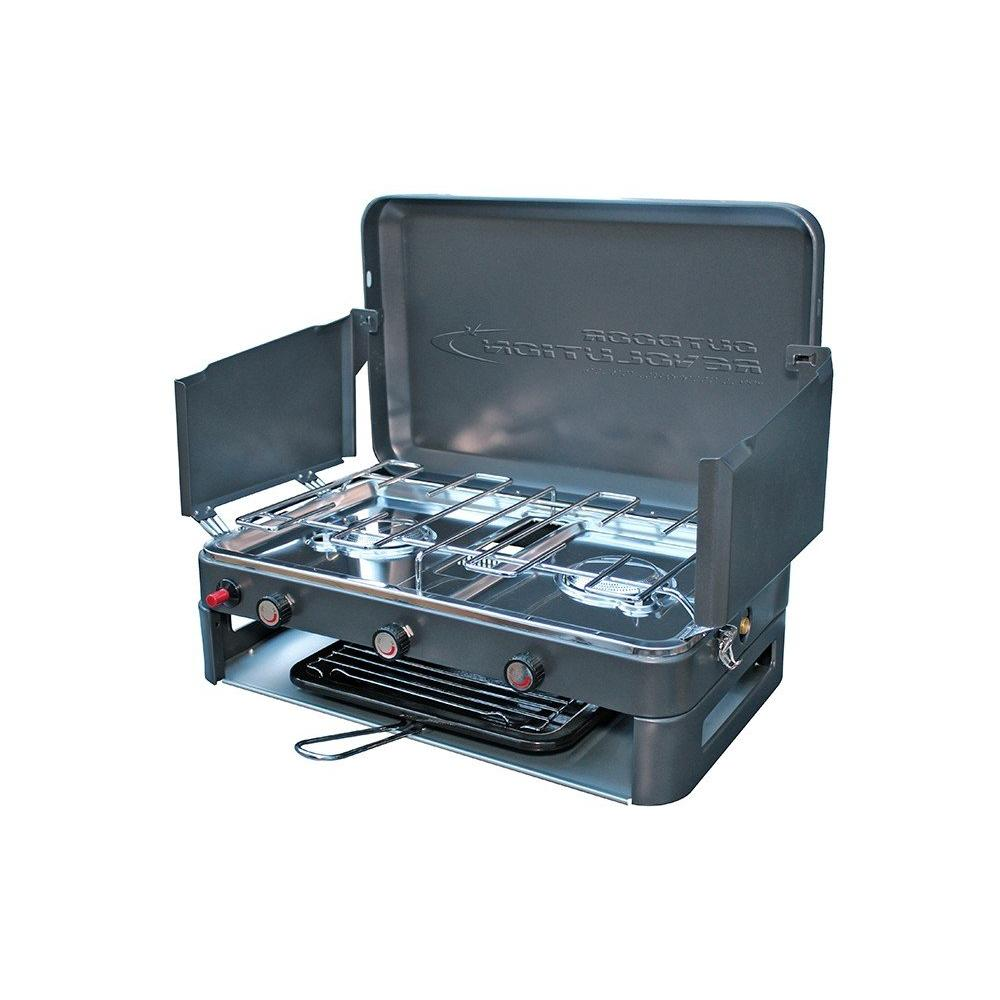 Outdoor Revolution Twin Burner Gas Stove/Grill