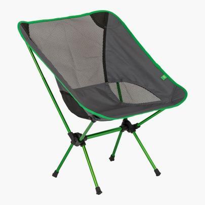 Highlander Ayr Folding Chair - Grey/Green