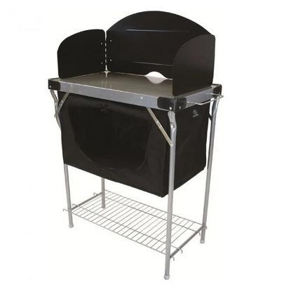 Highlander Steel Kitchen Stand with Cupboard