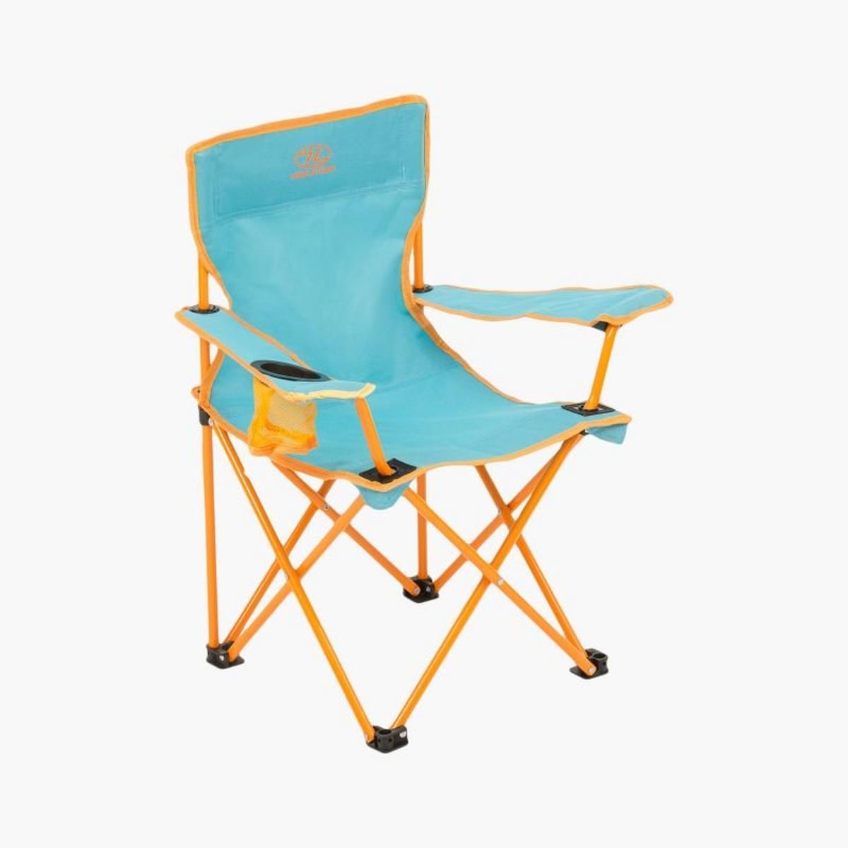 Highlander Kelburn Kids Chair - Kingfisher