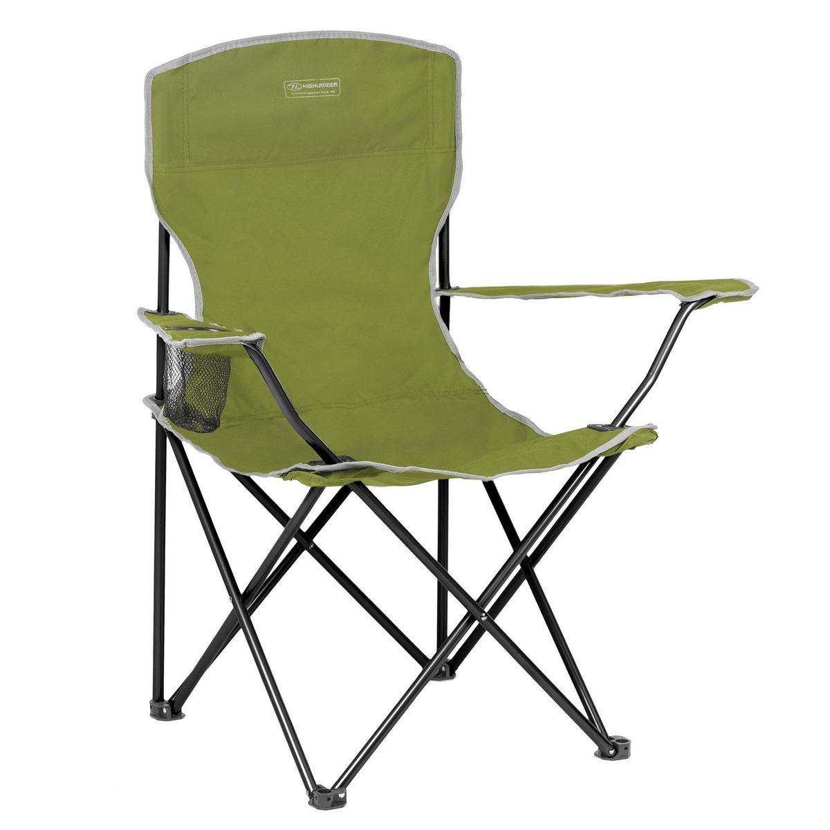 Highlander Traquair Folding Chair - Green