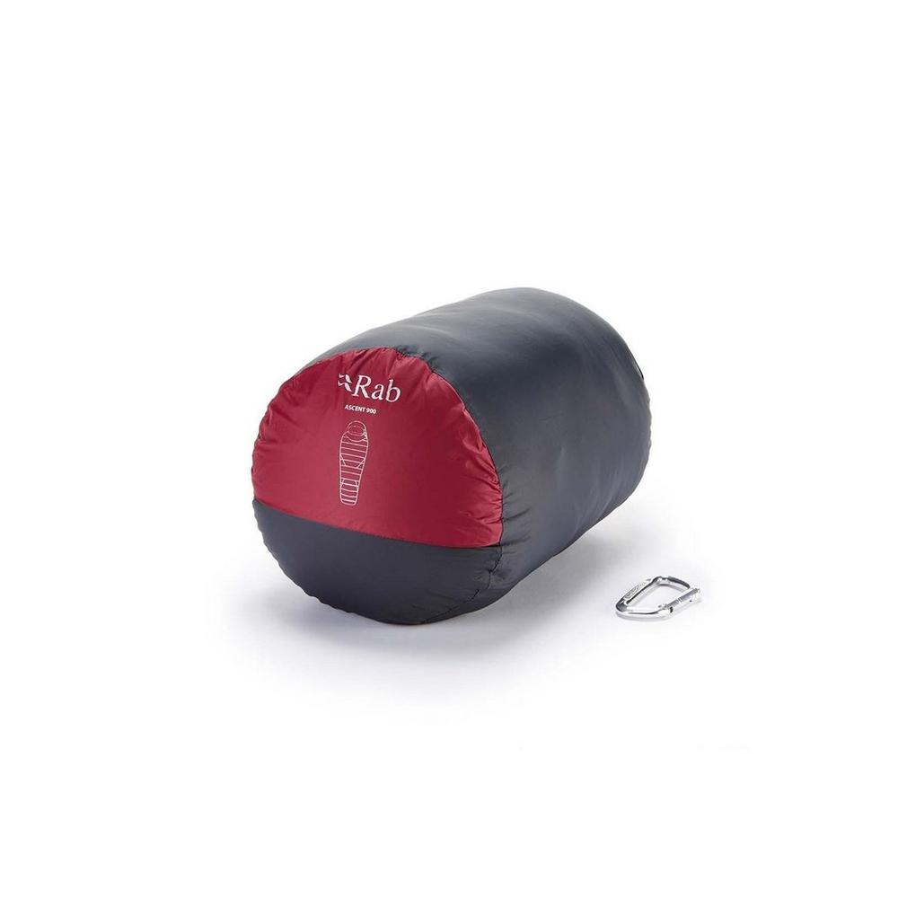 Rab Ascent 900 L Zip Sleeping Bag - Red