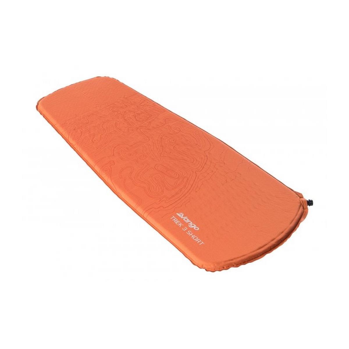 Vango Trek 3 Short Sleeping Mat - Orange