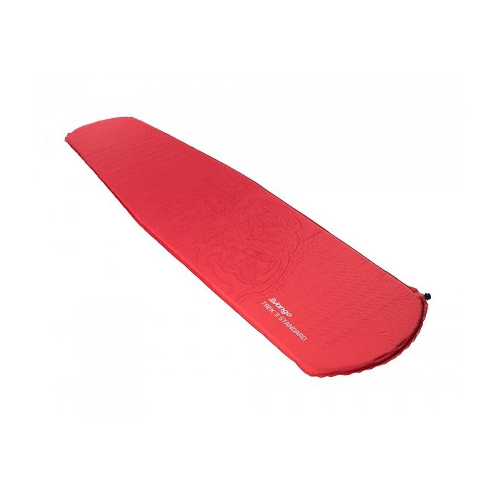 Vango Trek 3 Standard Sleeping Mat - Red
