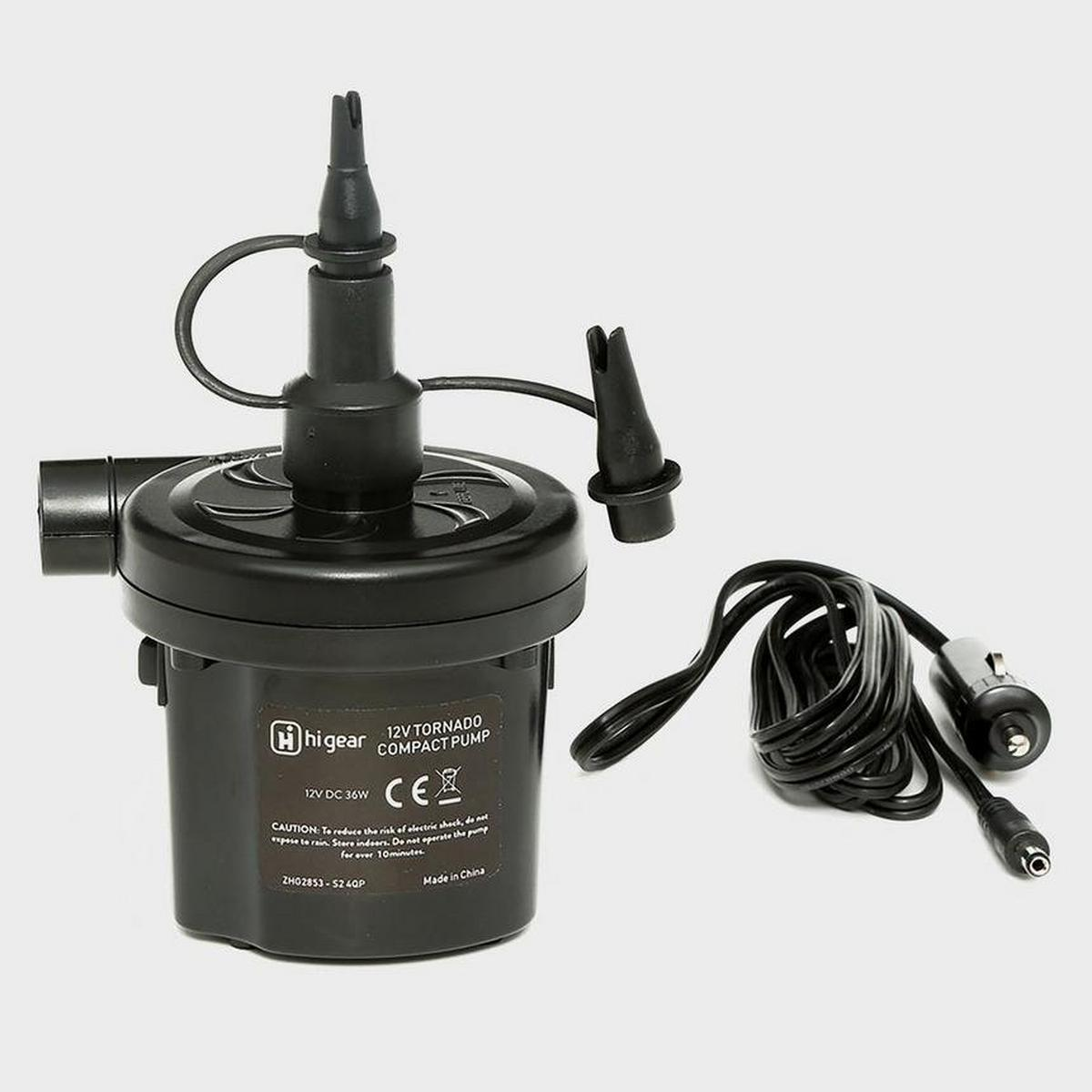 Hi-gear 12V Tornado Pump - Black