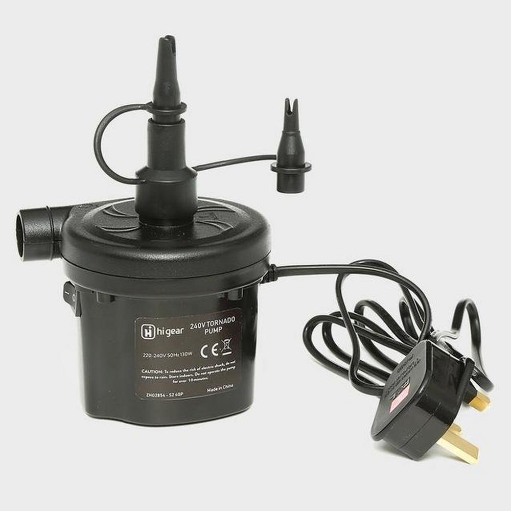 Hi-gear 240v Tornado Pump - Black