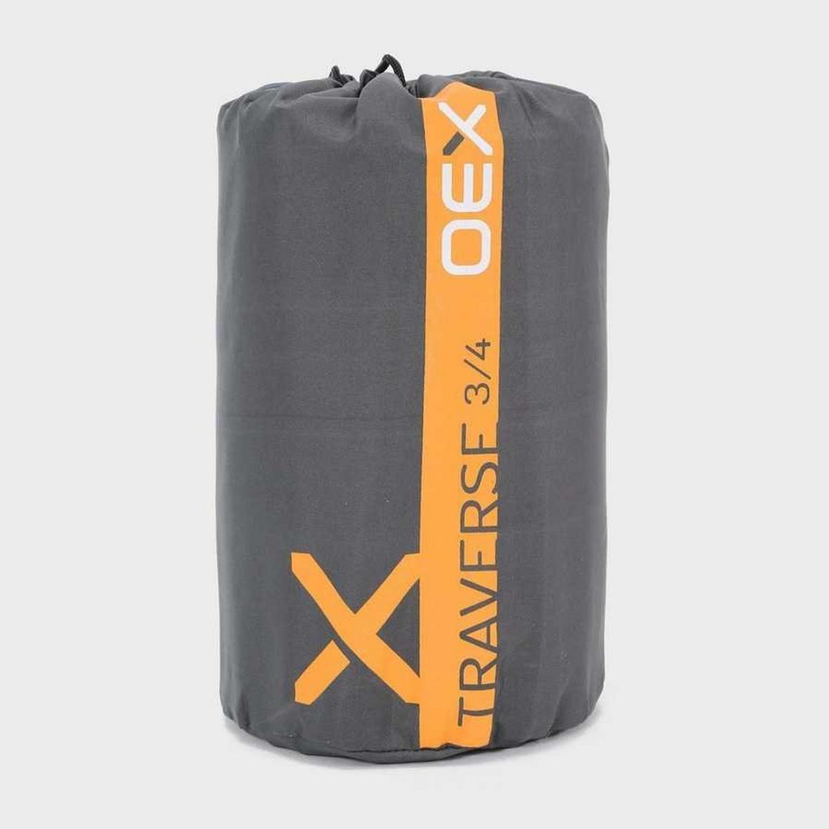 Oex Traverse 3/4 Self-Inflating Mat - Grey