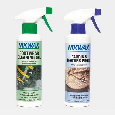 Nikwax Fabric & Leather Proof Spray 300ml - Twin Pack