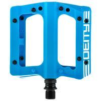 Compound V2 Flat MTB Pedals - Blue