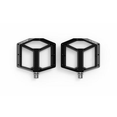Acid A3-ZP Flat Pedals - Black