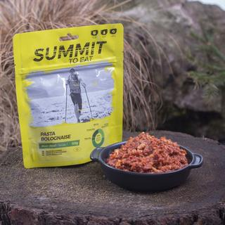 Camping Meal: Pasta Bolognaise