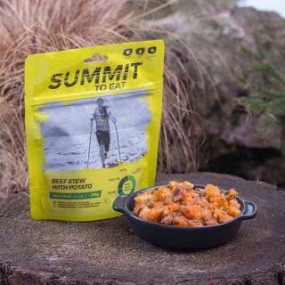 Camping Meal: Beef and Potato Stew