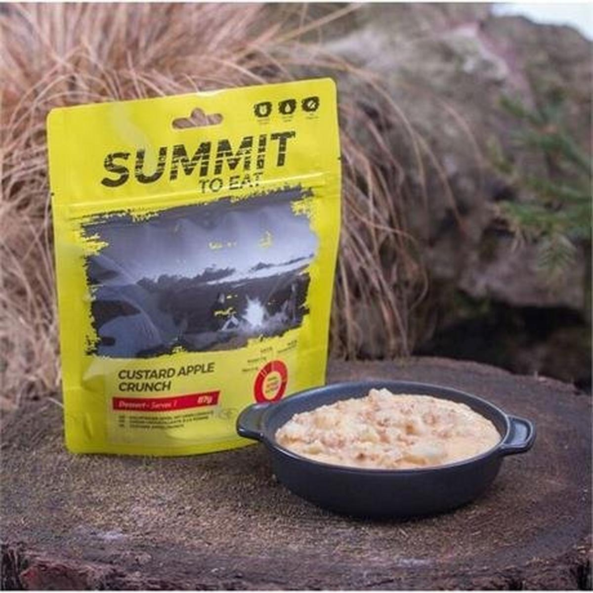 Summit To Eat Camping Meal: Custard Apple Crunch