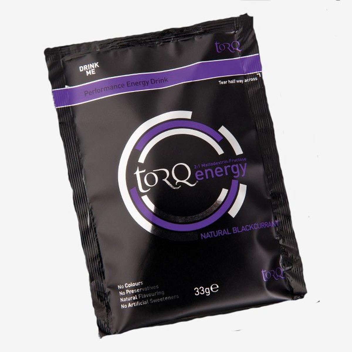 Torq Energy Drink Sachet Blackcurrant