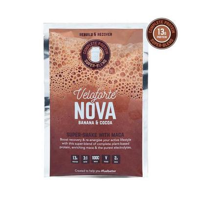 Veloforte Nova Recovery Protein Shake - Single - Banana, Cocoa & Maca