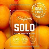 Solo Electrolyte Powder - Single - Golden Apricot & Sage
