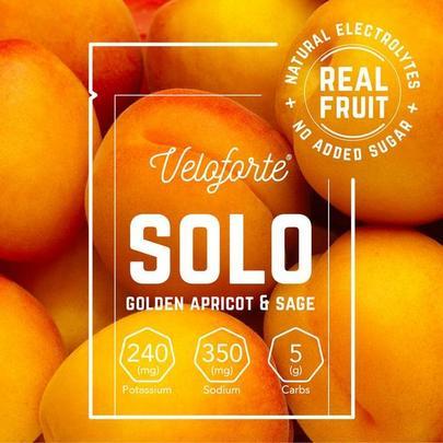 Veloforte Solo Electrolyte Powder - Single - Golden Apricot & Sage