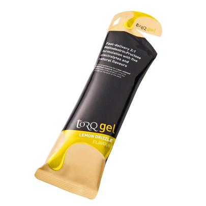 Torq Energy Gel Lemon Drizzle Flavour