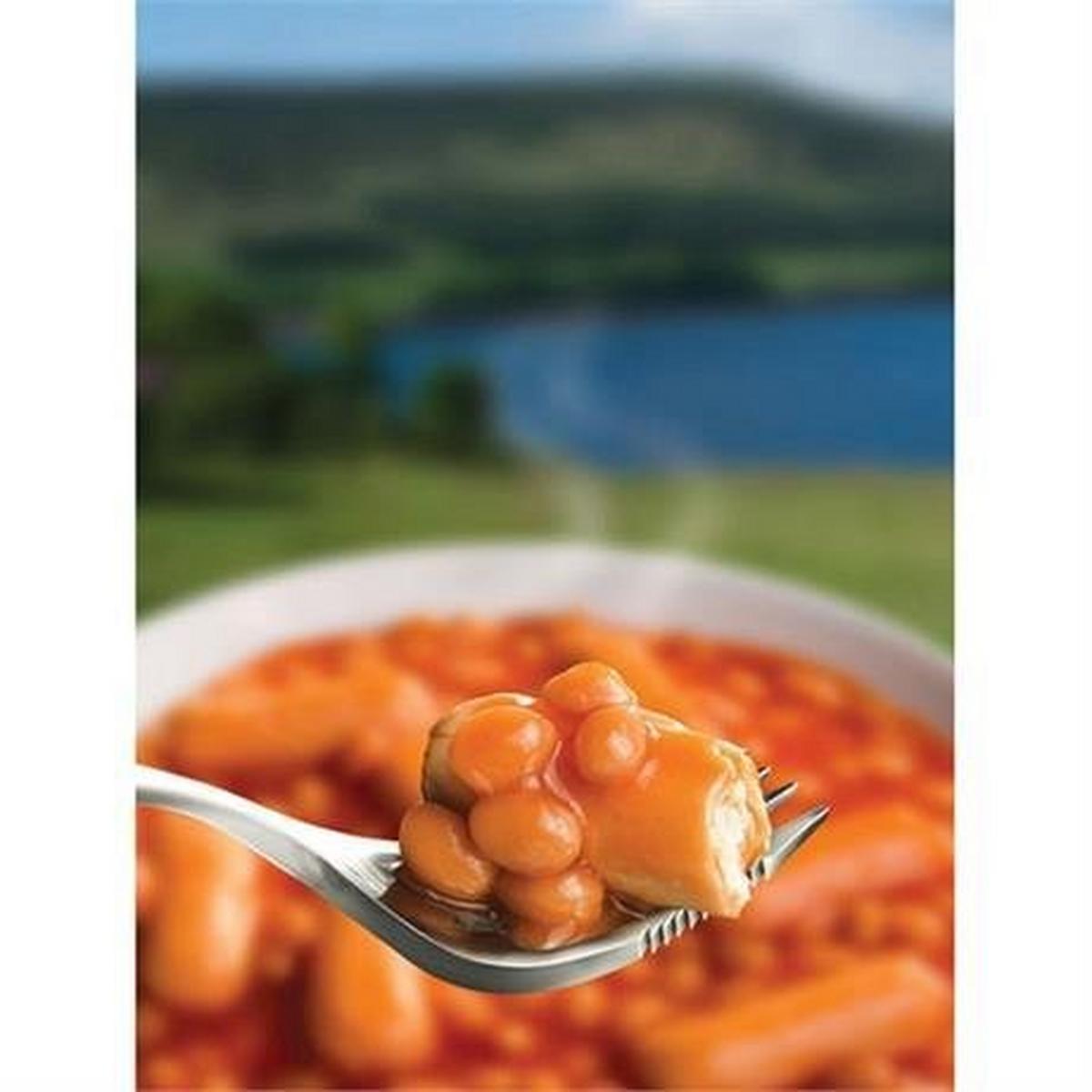 Wayfayrer Food Beans & Sausage
